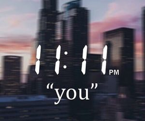 love, you, and 11:11 image