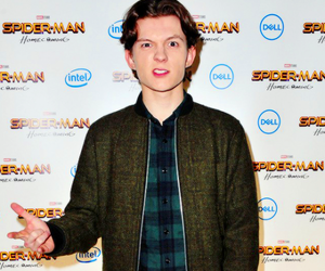 tom holland and peter parker image