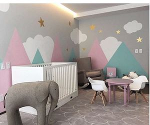 baby, baby room, and girly image