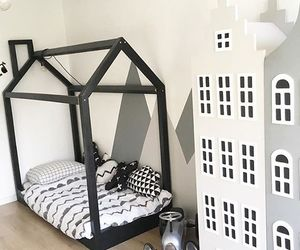 baby, baby room, and black image