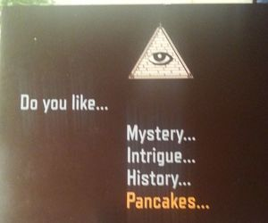 illuminati and pancakes image