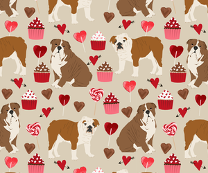 animal, background, and cupcake image