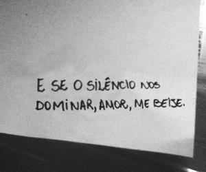 kiss, love, and silence image