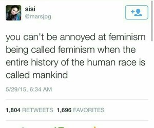 feminism, twitter, and woman image