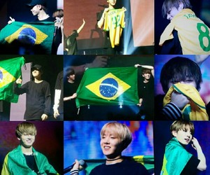 bts, jungkook, and brasil image