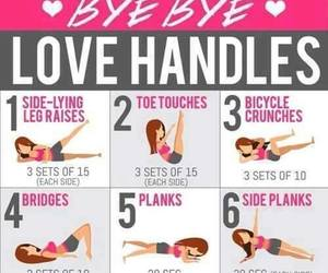 workout and love handles image