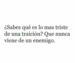 traicion, frases, and frases image