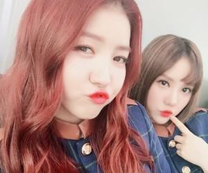 gfriend, sowon, and eunha image