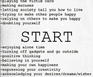 start, life, and quotes image