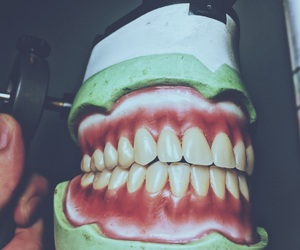 denture, thailand, and dentistry image