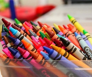 crayon, colors, and crayola image