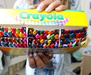 crayola, crayons, and quality image