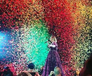 Adele, confetti, and tour image