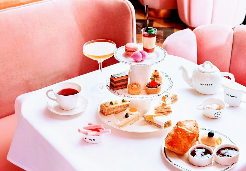 london, afternoontea, and teatime image