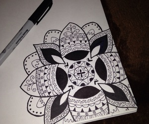 black, drawing, and inspiration image