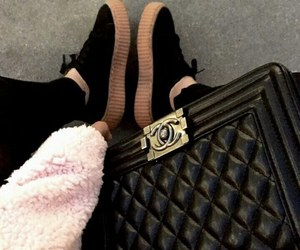 bag, chanel, and creepers image