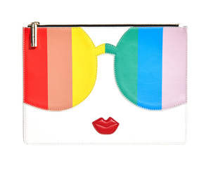 fun, pouch, and rainbow image