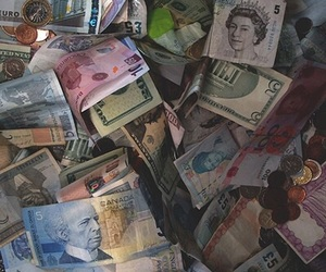 money, theme, and aesthetic image