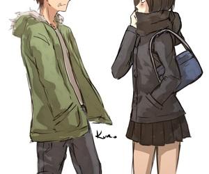 anime couples, shingeki no kyojin, and mikasa ackerman image
