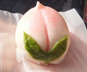 peach, food, and japan image