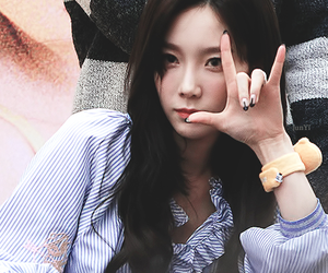 lovely, snsd, and taeyeon image