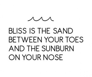 quote, sand, and summer image
