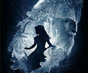 beauty and the beast, emma watson, and disney image