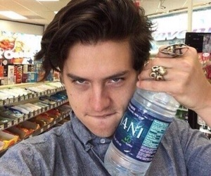 cole sprouse, riverdale, and water image