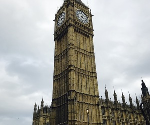 clock, london, and bigben image