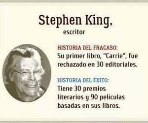 fuerza, Stephen King, and motivacion image