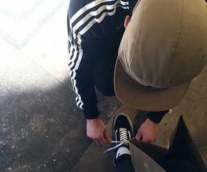 love, couple, and adidas image