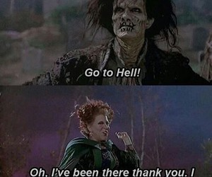 hell, Halloween, and quote image