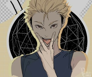 haikyuu and terushima yuuji image