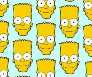 background, bart, and pattern image