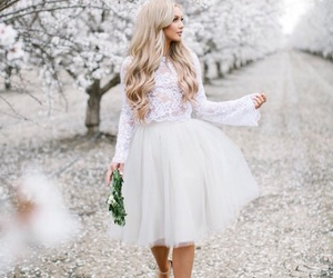 fashion, hair, and spring image