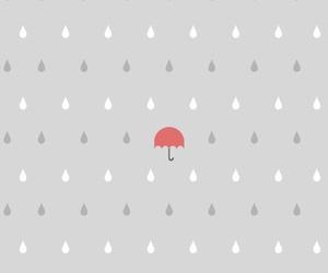 background, gray, and rain image