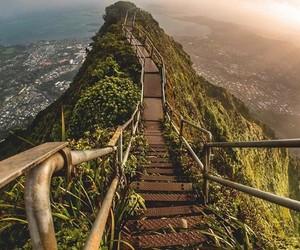 travel, adventure, and hawaii image