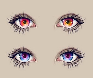 beautiful and eyes image
