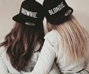 friends, bff, and brownie image