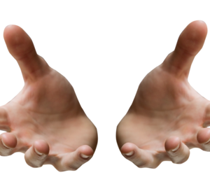 hands, overlay, and png image