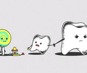 teeth, candy, and sweet image