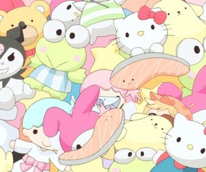 anime and sanrio image