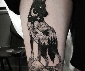 night, tattoo, and Tattoos image