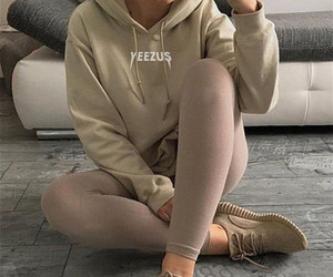 fashion, yeezy, and beauty image