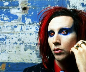 alternative, makeup, and Marilyn Manson image