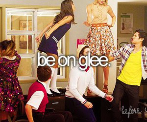 glee, quote, and before i die image