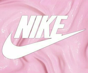 nike, wallpaper, and pink image