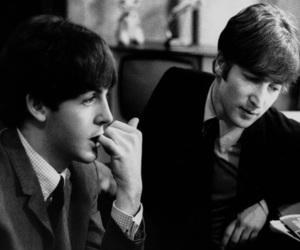 john lennon, Paul McCartney, and beatles image