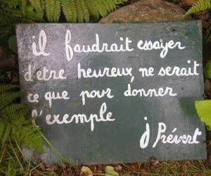 french, prevert, and quote image
