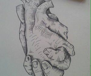 hands, art, and heart image